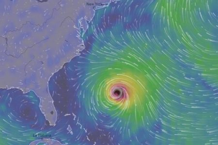 Florence is predicted to restrengthen and is a hurricane threat to the East Coast