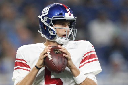 Reports: Giants waive young QB Davis Webb in shocking move