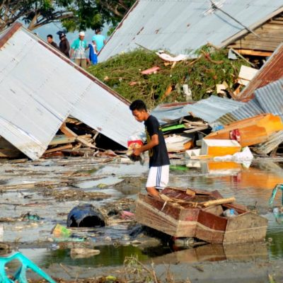 Death toll in Indonesia surpasses 380 after earthquake, tsunami