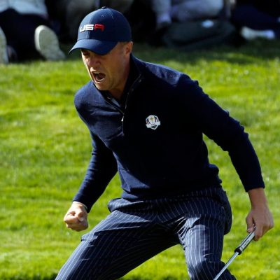 Europe extends its Ryder Cup lead over the US to 8-4