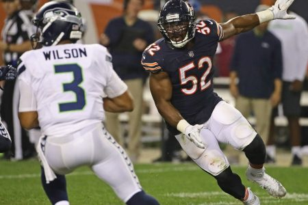 Khalil Mack keeps doing Khalil Mack things while Jon Gruden defends the trade