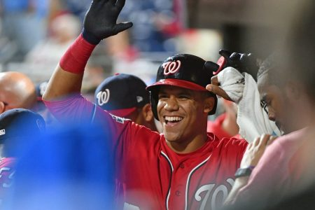 Juan Soto caps Nationals' rally in Game 2 as they sweep doubleheader