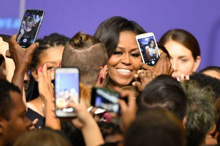 Michelle Obama rallies voters in Las Vegas, warns against apathy