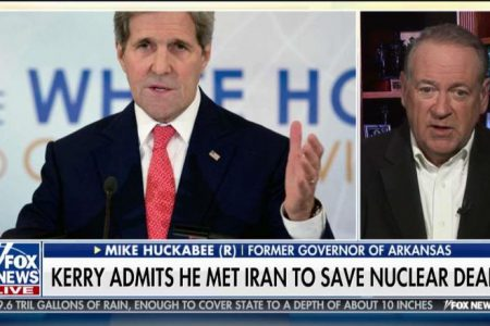 Huckabee: Kerry Talking to Iranians 'Makes the Case' for First-Ever Logan Act Conviction