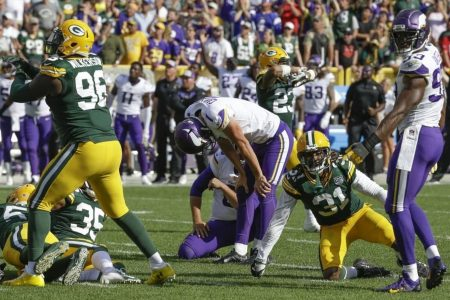 The Vikings and Browns suddenly may be in the market for kickers