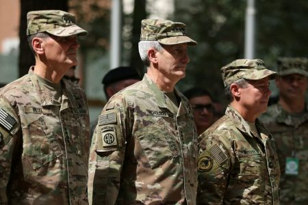 US military command changes hands in Afghanistan