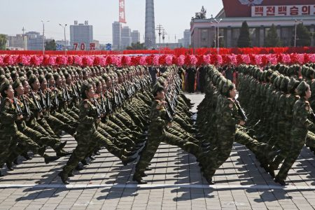 North Korea celebrates 70th birthday with military parade — but doesn't show off ICBMs