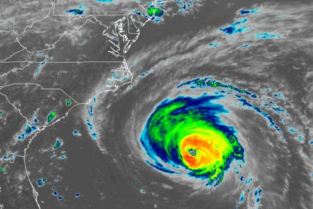 Hurricane Florence to have little effect on DC area through the weekend. Chance of rain next week.
