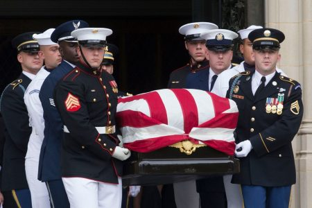 McCain's funeral was a melancholy last hurrah for what's been lost in Trump era