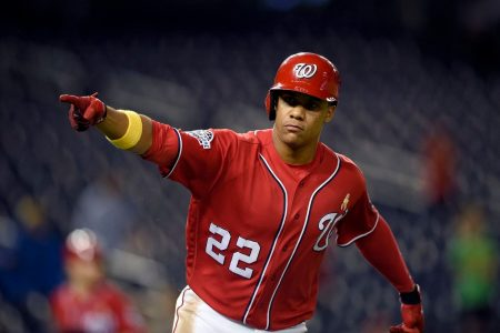 Juan Soto comes through again as Nationals rally late to upend Brewers
