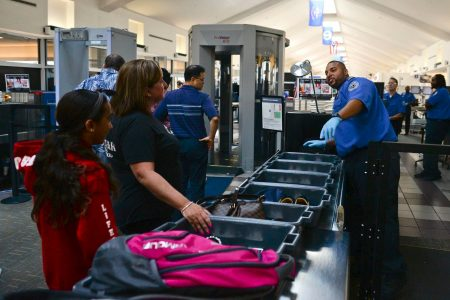 Those airport security bins carry more germs than the toilets, scientists say