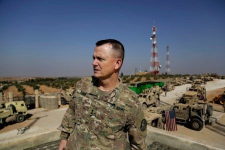 US forces conduct live-fire exercise in southern Syria in a warning to Russia