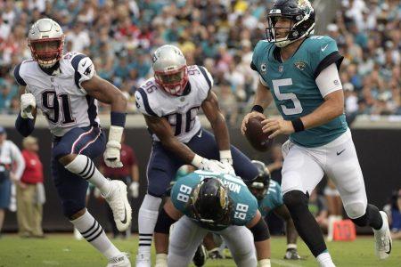 NFL Week 2: Blake Bortles outplays Tom Brady; Patrick Mahomes, Ryan Fitzpatrick star