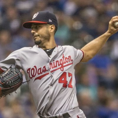 Nationals' sell-off continues with Gio Gonzalez shipped to Brewers