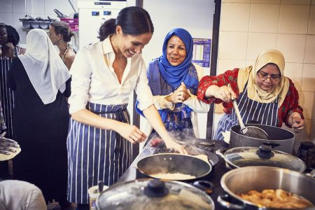 Duchess Meghan, royal 'foodie,' to launch charity cookbook celebrating unifying power of good eats