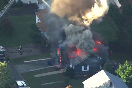 Nearly 40 homes catch fire after natural gas tragedy north of Boston; 1 dead