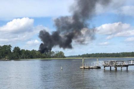 F-35 military plane crashes in coastal South Carolina — live updates