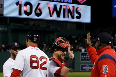 Boston Red Sox set franchise wins record with 106th victory of season