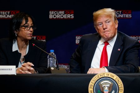 Mom honored by Trump after MS-13 killed her daughter, killed by SUV at girl's memorial site