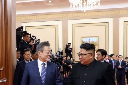 Kim Jong Un, Moon Jae-in sign agreement to 'usher in a new era of peace'