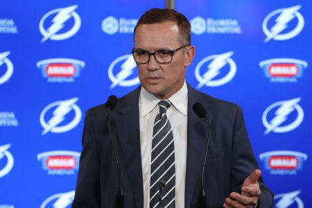 Hall of Famer Steve Yzerman steps down as GM of the Tampa Bay Lightning
