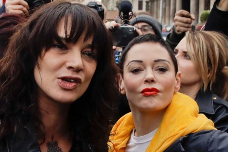 Asia Argento to Rose McGowan: Time's up! I'm gonna sue you for libel