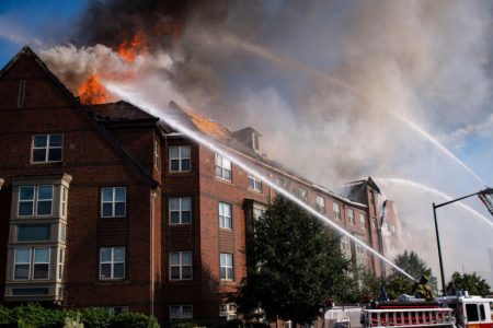 Elderly man found alive and well in apartment 5 days after fire at Washington senior home