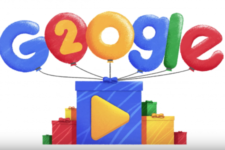 Google's 20th Birthday Doodle Brings the Most Popular Searches Ever to Life