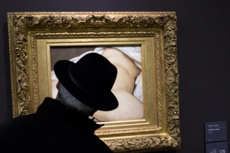 """Experts identify model in scandalous painting """"The Origin of the World"""""""