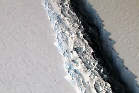 Larsen C: Iceberg the Size of Delaware Is on a Collision Course With Antarctica