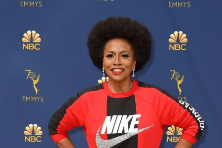Jenifer Lewis Supports Colin Kaepernick by Wearing Nike on Emmys Red Carpet
