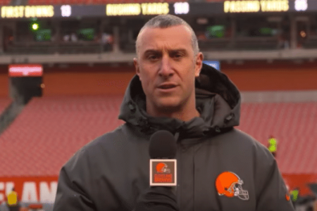 Who is Nathan Zegura? Cleveland Browns Sideline Reporter Suspended for Yelling at Official