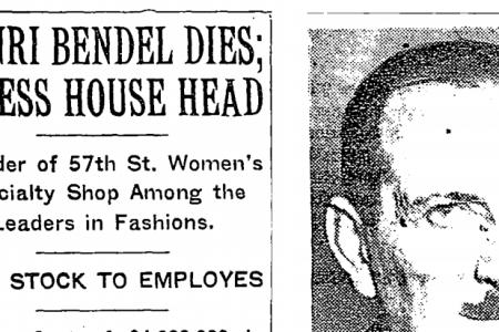 The Very Open Hidden History of Henri Bendel