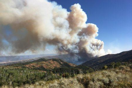Pole Creek, Bald Mountain Fire Map: Blazes Grow Over 60000 Acres in Utah