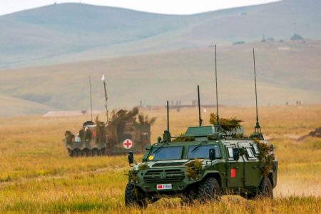 Russia holding largest war games in its history