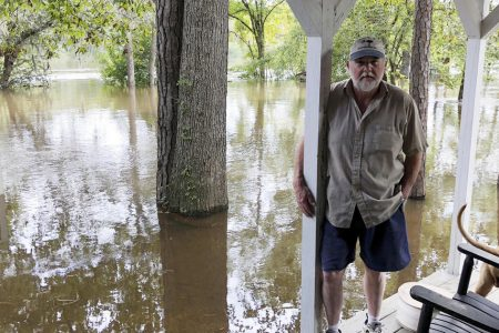 Florence's final act: Record flooding likely on South Carolina coast