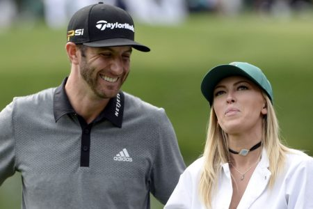 Dustin Johnson on Paulina Gretzky: We are committed to being a family