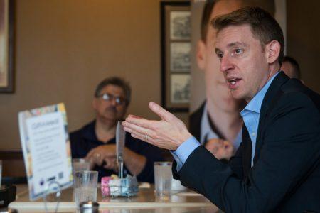 Jason Kander Withdraws From Kansas City Mayoral Race, Citing PTSD