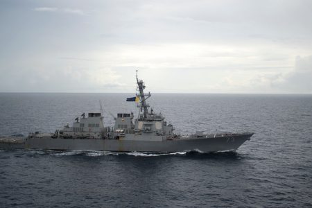 American and Chinese Warships Narrowly Avoid High-Seas Collision