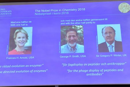 Nobel Prize in Chemistry Is Awarded to 3 Scientists for Using Evolution in Design of Molecules