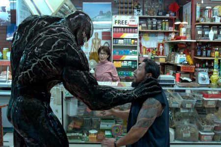 Review: In 'Venom,' Tom Hardy as a Weirder-Than-Usual, Not-Quite Superhero