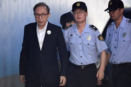 Former South Korean President Gets 15 Years in Prison for Corruption