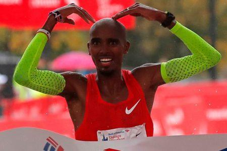 Mo Farah Surges to Win Chicago Marathon