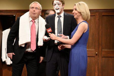 On 'SNL,' Republican Senators Host a Locker Room Celebration for Kavanaugh's Confirmation