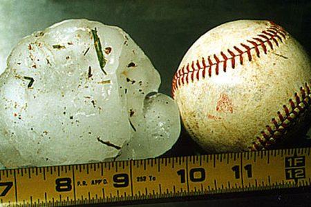 Mom horribly bruised shielding baby from softball-sized hailstones