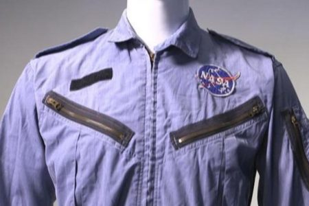 Own one of Neil Armstrong's flight suits. Starting bid: $10000