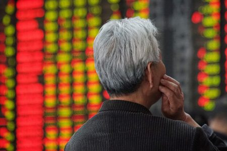 China stocks plunge amid heavy selling in the energy sector and growing worries about the economy