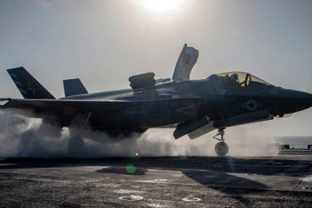Pentagon Grounds F-35 Fighter Jet Fleet Following Crash