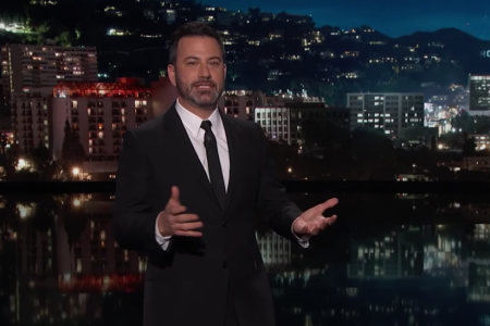 Jimmy Kimmel Says Kanye West Is a Mirror for Trump