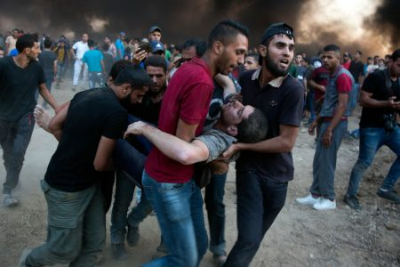 7 Palestinians Killed by Israeli Fire in Gaza Border Clashes